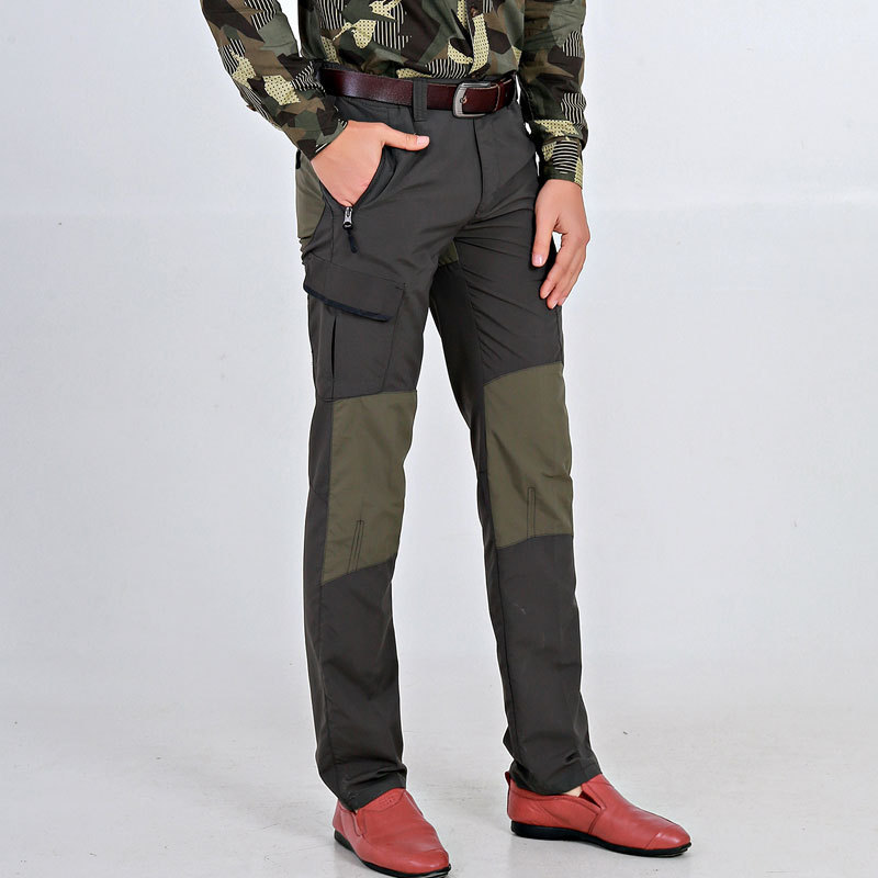 6531 #2019 New Style Spring And Autumn MEN'S Casual Pants Men'S Wear Europe And America Military Style Trousers Middle-aged Outd