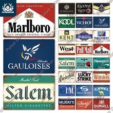 Putuo Decor Cigarette Brand Vintage Tin Sign Fashion Metal Poster Wall Decoration Club Man Cave Smoke Shop Advertising Plate