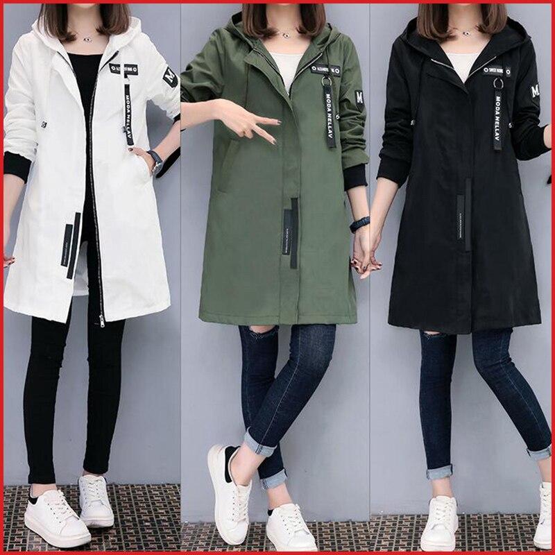 Semfri Jacket Women 2020 Autumn Winter Chaqueta Mujer Plus Size Slim Baseball Clothes K Pop Medium Length Windbreaker Coats