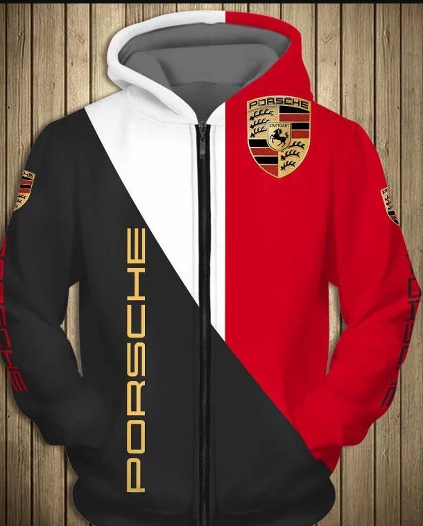 New European and American style men's sweatshirt digital printing turtleneck long sleeve youth popular hooded collar sweatshirt-
