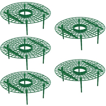 Hot 15 Pack Strawberry Plant Supports Strawberry Growing Support Rack Avoid Rot Frame Lightweight Strawberry Growing Tool фото