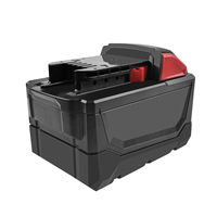bonacell 9.0Ah Li ion Tool Battery for Milwaukee M18 48 11 1815 48 11 1850 Repalcement M18 Battery 2646 20 2642 21CT