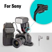 AODELAN External Flash Battery Pack Battery Power Bank for Sony HVL F60RM/ F56AM / 58AM / F60M Replace Sony FA EB1AM & FA EB1
