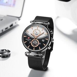 Image 1 - Chronographe récompense en acier inoxydable pour hommes, montre de Sport militaire de luxe, Top marque montre pour hommes