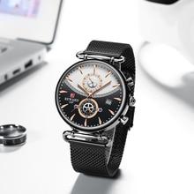 報酬クロノグラフメンズ腕時計トップブランドの高級軍スポーツ腕時計ファッションステンレス鋼腕時計時計レロジオ Masculino
