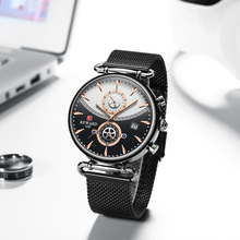 Recompensa cronógrafo relógio masculino marca superior luxo militar esporte relógios moda aço inoxidável relógio masculino relogio masculino