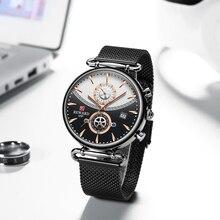 Ricompensa Cronografo Vigilanza Degli Uomini di Top Brand di Lusso di Sport Militare Orologi di Moda in Acciaio Orologio in Acciaio da Uomo Orologio Relogio Masculino