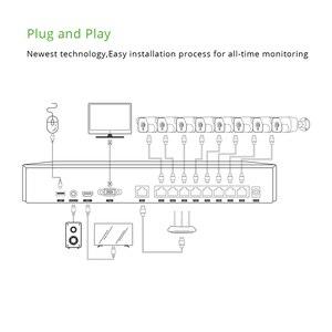 Image 4 - 8ch 5MP אודיו POE ערכת H.265 מערכת אבטחת CCTV NVR חיצוני עמיד למים IP מצלמה מעקב מעורר וידאו שיא G. אומן