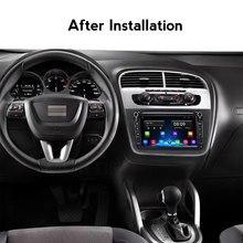 Autoradio Android, navigation gps, lecteur multimédia vidéo, audio, pour voiture Seat Altea (2004 – 2015), Toledo (2004, 2005, 2006, 2007, 2008)