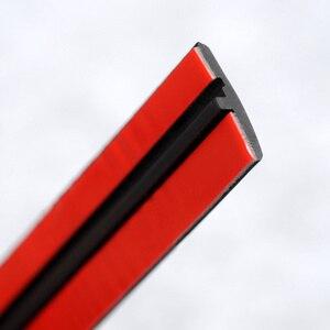 Image 4 - Gummi Auto Dichtung Auto Dach Scheibendichtstoff Gummi Protector Dichtung Streifen Schallschutz Fenster Dichtungen Auto Styling Für Auto