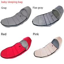 Зимний спальный мешок, ветронепроницаемый чехол для коляски, теплые спальные мешки, чехол для ног, детское одеяло, пеленка, 3~ 24 м