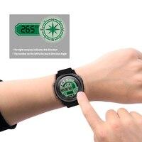 SENBONO S28 남자 스마트 시계 Ip68 방수 스포츠 스톱워치 나침반 원격 제어 블루투스 4.0 전화 SMS 알림 Smartwatch