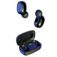 Kulaklık kablosuz kulaklıklar Bluetooth kulaklık TWS kulaklık kulakiçi 5.0 Bluetooth kulak telefonları LED ekran iOS Android IPhone için