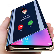 Luxury Smart Mirror Phone cover For Xiaomi Redmi Note 10pro 6 5 Pro K30 K20 8T 10X 9A 9C 8A 4X Mi 10 9 8 Pro A3 CC9 9 Lite Cover