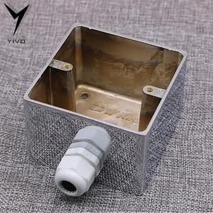 Image 4 - 2*US KS II# Power Connector Hi end DIY HIFI  Copper plated gold 20amp 20A 125V aluminium plate box power socket electric outlet