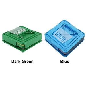 Image 5 - 100 穴カプセル充填機ほどサイズツール ABS ボード耐久性のある食品グレードマニュアル Diy の粉体高速エンキャプ製薬