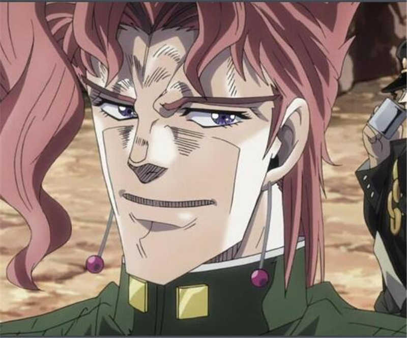 1 paio Anime Bizarre Adventure Kakyoin Noriaki Orecchini Gancio Dell'orecchio Dei Monili Della Clip Dell'orecchio Collezione di Gioielli per le Donne Degli Uomini