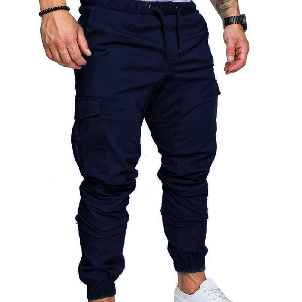 Men Long Pants Jogging Jogger Sportwear Slim Fit Sports Pants Tracksuit Fabala Pencil Trousers Sweatpants Cargo Casual