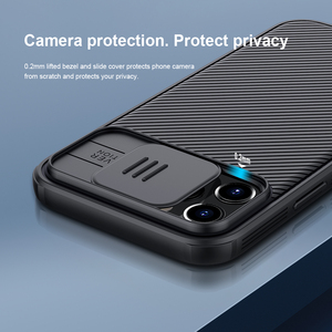 Image 4 - for Apple iPhone 12 Pro Max Phone Case,NILLKIN Camera Protection Slide Protect Cover Lens Protection Case for iPhone 12 Mini 5G