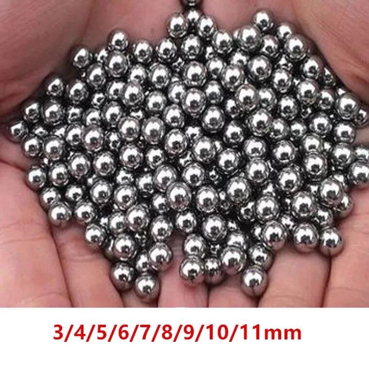 Шарики подшипники диаметром 2 мм, 3 мм, 4 мм, 5 мм, 6 мм, 50 шт.