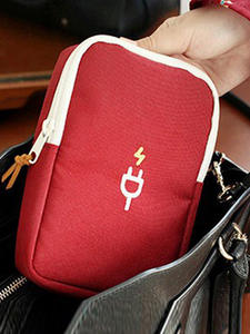 Bag Pouch Case-Accessories-Supplies Power-Bank Travel Portable Women's Package Product