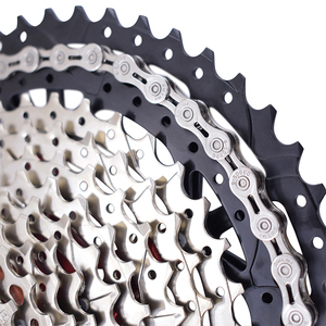 Image 3 - Rookoor Bicycle Chain 6 7 8 9 10 11 Speed Velocidade Titanium Plated TI Gold Silver Mountain Road Bike MTB Chains Part 116 Links
