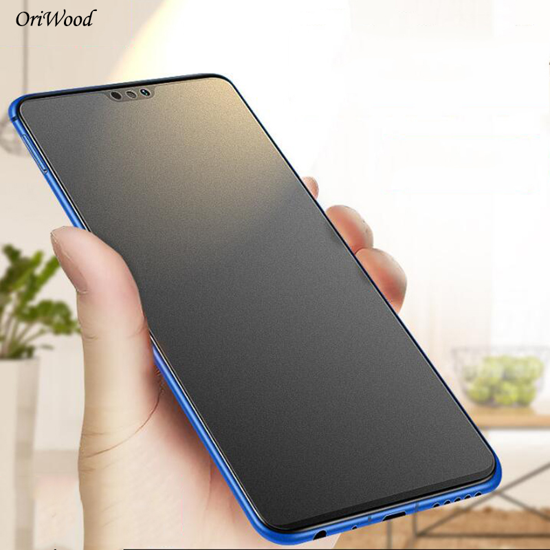 OriWood 2.5D Matte Frosted Tempered Glass For Huawei Honor 8X Anti Fingerprints Screen Protector For Honor 8X Protective Film