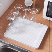 Creative Multi-Function Kitchen Drain Tray Simple Non-Slip Diatom Mud Cup Dish Plate Filter Water Rack