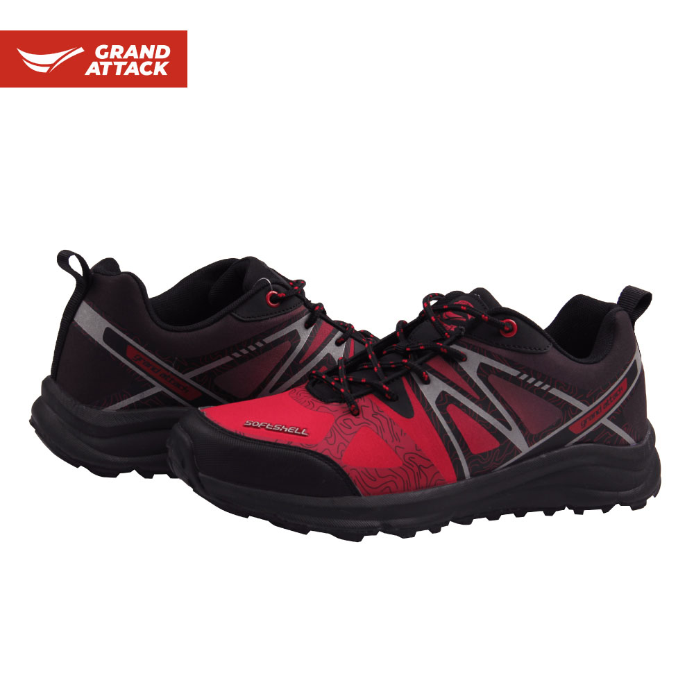 Grand Attack Soft Shell Outdoor Mens Lace up Camping Trekking Hiking Walking shoes size 41-45