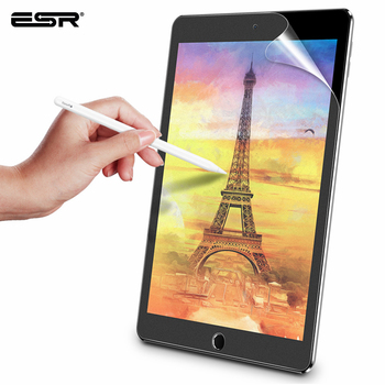 ESR Writtable Screen Protector Film Matte PET Anti Glare Painting For Apple iPad 7 9.7 Pro 10.2 10.5 12.9 inch mini 1 2 3 4 5 3pcs pack cheap good front matte protetive film for apple ipad 2 3 4 screen protector anti glare carton pack