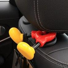 Автомобиль для сиденья утопленный задний крюк для хранения милый Микки Многофункциональный капуста хранения одежды yong pin jia