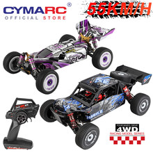 WLtoys 124018 124019 RC Car 55km/h 4WD 1:12 Aluminum Alloy Off-Road Drift Climbing Racing Toys High Speed Remote Control Cars