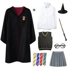Поттер одеяние для костюмированной вечеринки костюм Гарри рубашка
