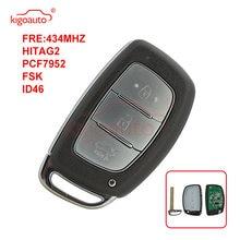Kigoauto 3 кнопки 434 МГц id46 чип умный дистанционный ключ