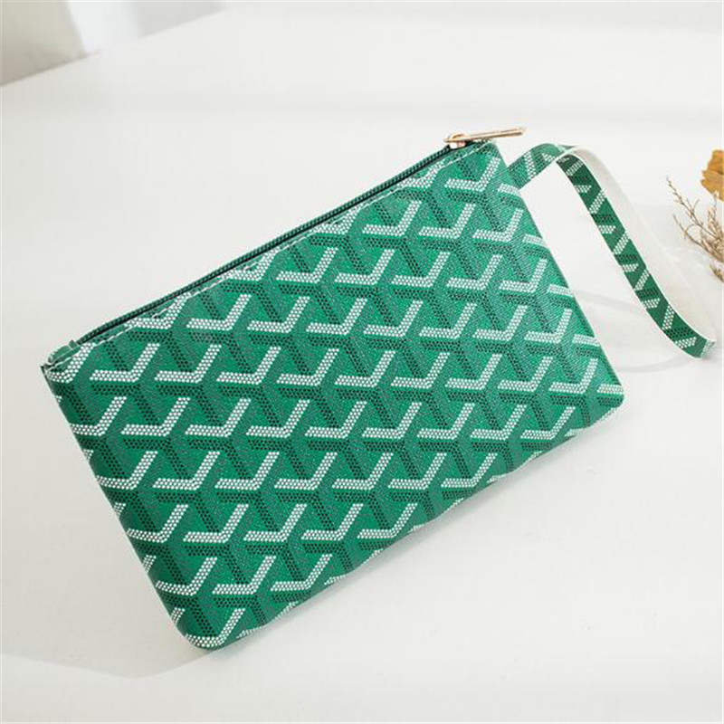 Female Purse Printed Clutch Women Long Casual Wallet PU Leather Lady Zipper Phone Pocket Credit Card Holder Coin Money Bag