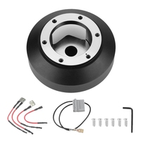 Car Steering Wheel 6 Hole Quick Release Hub Adapter Boss Kit for Nissan 350Z 370Z Amada Versa