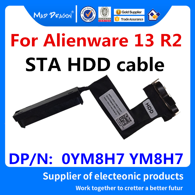 """for Dell Alienware 13 R2 2.5 14/"""" Laptop LCD LED Video Cable DC02C00BH00 0YM8H7"""