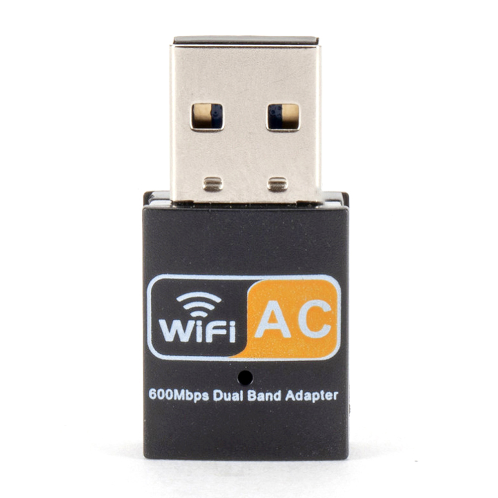 600 Mbit/s 2.4G/5GHz Wireless USB LAN Card X PC WiFi Adapter 802.11ac Dual Band Hot Sell Dropship Products