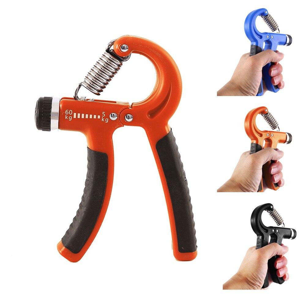 Adjustable 5-60Kg Fitness Hand Gripper Trainer Exerciser Grip Strength Wrist Training Spring Finger Pinch Carpal Expander