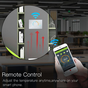 Image 4 - WiFi Thermostat Programmable Temperature Controller Underfloor Water/Gas Boiler Weather Station Tuya Smart Alexa Voice Control