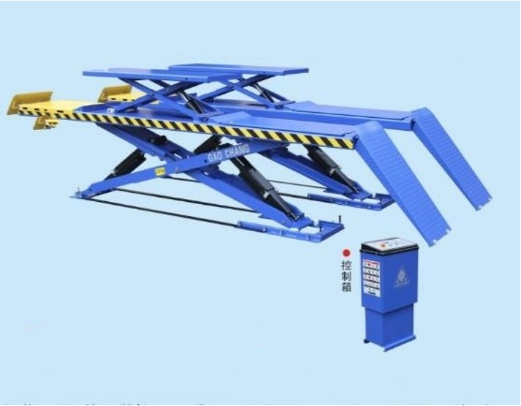Scissor Car Lift Of Wheel Alignment CE For Workshop