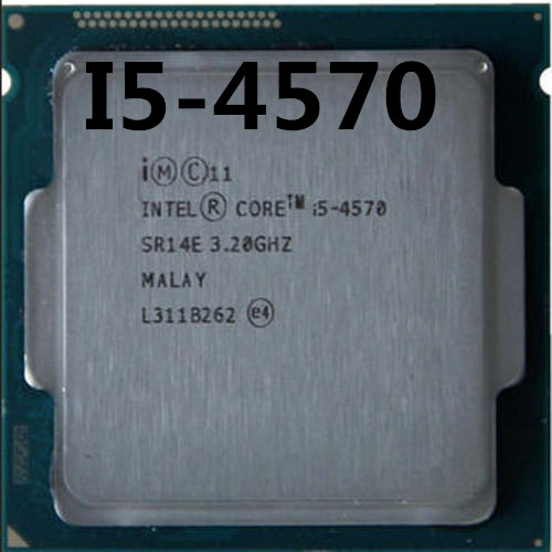 Intel Core I5-4570 I5 4570 Processor Quad-Core LGA1150 Desktop CPU 100% Working Properly Desktop Processor