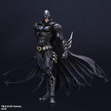 Play Arts DC Comics-figura de Batman n. ° 1, modelo limitada en negro y azul