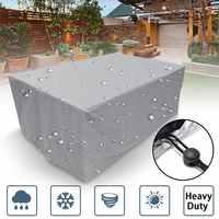Ao ar livre à prova dwaterproof água capas de móveis chuva neve capa à prova de poeira cadeira 1 pc pátio jardim mesa para sofá cadeira cobre popular