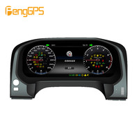 Android 12.3 Car LCD instrument panel screen Car GPS Navigation For Toyota Land Cruiser 2012 2019 dash Multimedia player stereo