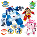 Робокар Поли оригинальные детские игрушки для мальчиков обучающая машинка из конструктора фигурки кирпичи совместимые детские игрушки