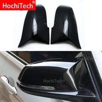 For BMW 3 Series GT 3GT F34 2013 2018 Rear view mirror cover M3 M4 The same high quality bright black mirror cover