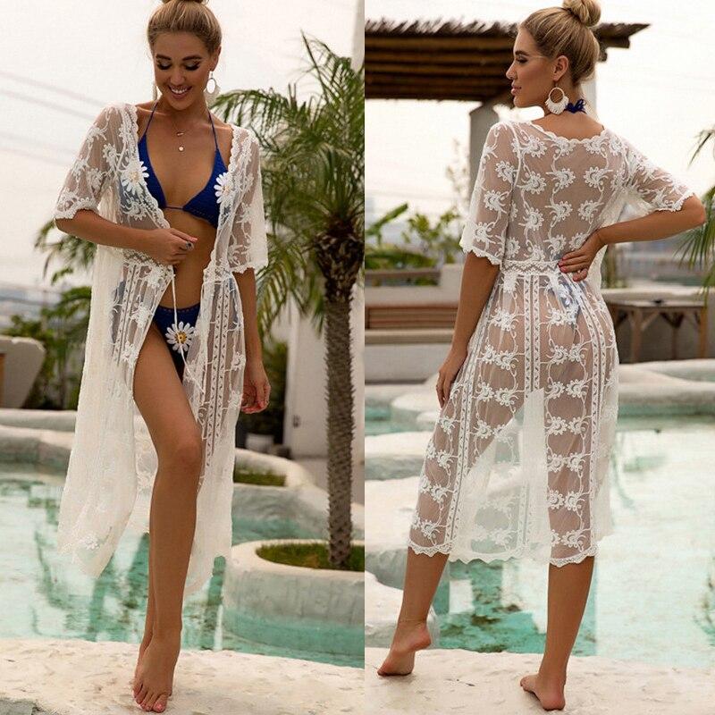 New Kimonos Beachwear Hand-Woven  Women Swimwear  1
