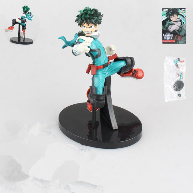 My Hero Academia Midoriya Izuku Heroes Vol.1 Action Anime Figures Model PVC Toys Todoroki Shoto Figma Collector Brinquedos Doll 1