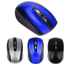 Portable 2.4G Wireless Optical Mouse Mouse untuk Komputer PC Laptop Gamer(China)